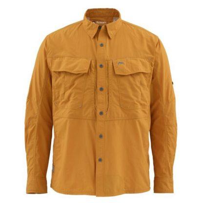 Simms Guide Shirt LS Amber