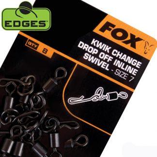 Fox Edges Kwik Change Drop Off Inline Swivels