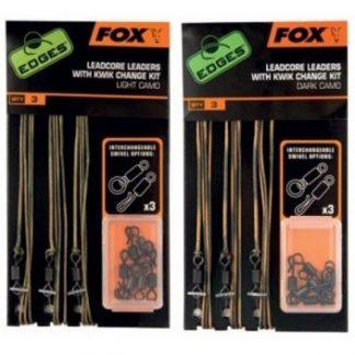 Fox Leadcore Leaders With Kwik Change Kit