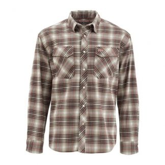 Simms Gallatin Flannel LS Shirt Tumbleweed Plaid