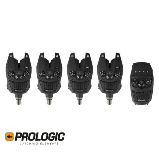 Prologic SNZ Bite Alarm Kit 4 + 1