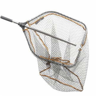 Savage Gear Pro Tele Folding Rubber Mesh Landing Net