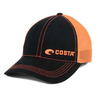 Costa Del Mar Neon Trucker Cap