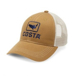 Costa Del Mar Trout Trucker XL Brown