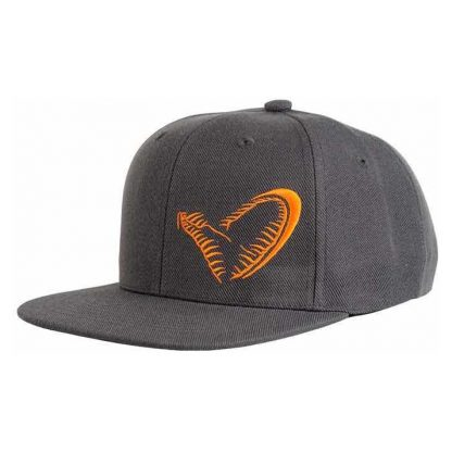 savage_gear_flat_bill_snap_back_cap