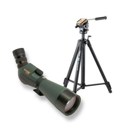 Focus Naturscope 20-60x85 Tubkikare + Tripod
