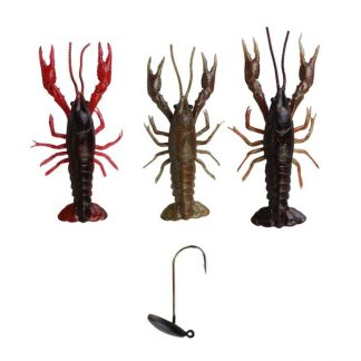 Savage Gear 3D Crayfish 8cm 3+1 Kit