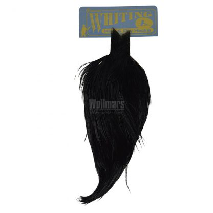 Whiting High And Dry Hackle Cape Black