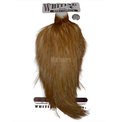 Whiting Bronze Spey Hackle Cape Medium Ginger