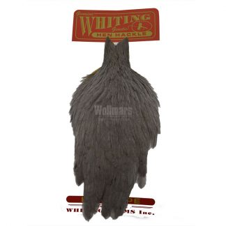 Whiting Hen Cape Medium Dyed Dun