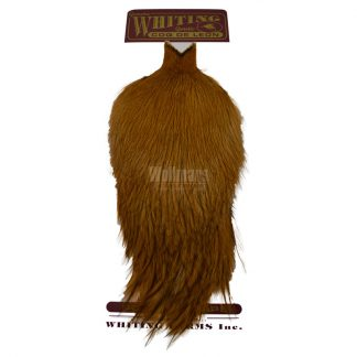 Whiting Coq Leon Cape Badger Dyed Medium Ginger