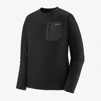 Patagonia Ms R1 Air Crew_BLK