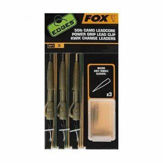 Fox Camo Leadcore Power Grip Lead Clip Kwik Change Leaders