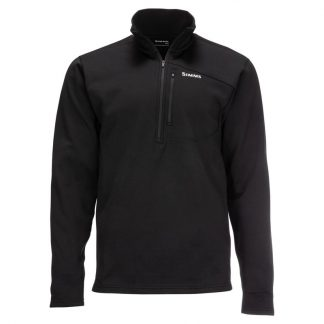 Simms Thermal 1-4 Zip Top Black