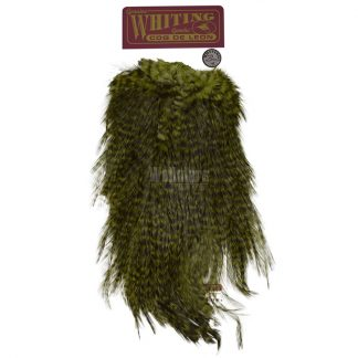 Whiting_Coq_de_Leon_Bronze_Saddle_Grizzly_dyed_Olive-1